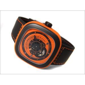 セブンフライデー SEVEN FRIDAY 腕時計 SF-P1/03 機械式自動巻 メンズ レザーベルト|ippin