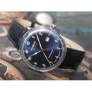 ツェッペリン ZEPPELIN 腕時計 7046-3 ヒンデンブルク クォーツ 40mm レザーベルト|ippin