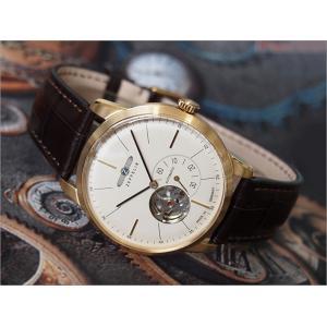 ツェッペリン ZEPPELIN 腕時計 7362-1 フラットライン 自動巻 40MM レザーベルト|ippin