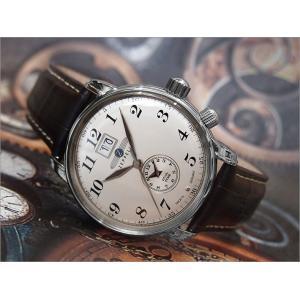 ツェッペリン ZEPPELIN 腕時計 7644-5 LZ127 グラーフツェッペリン クォーツ 42mm レザーベルト|ippin
