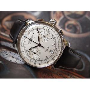 ツェッペリン ZEPPELIN 腕時計 7670-1 100周年記念 クォーツ 42mm レザーベルト|ippin