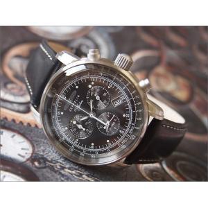 ツェッペリン ZEPPELIN 腕時計 7680-2 100周年記念 クォーツ 42mm レザーベルト|ippin