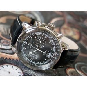 ツェッペリン ZEPPELIN 腕時計 7690-2 100周年記念 クォーツ 42MM レザーベルト|ippin
