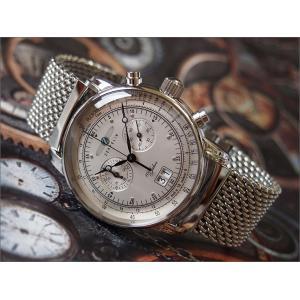 ツェッペリン ZEPPELIN 腕時計 7690M-1 100周年記念 クォーツ 42mm メタルベルト|ippin