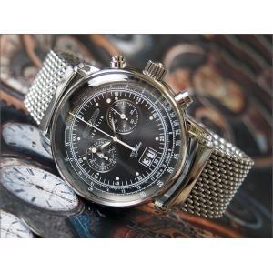 ツェッペリン ZEPPELIN 腕時計 7690M-2 100周年記念 クォーツ 42MM メタルベルト|ippin
