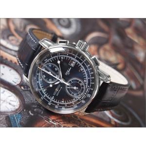 ツェッペリン ZEPPELIN 腕時計 8670-3 100周年記念 クォーツ 42mm レザーベルト|ippin