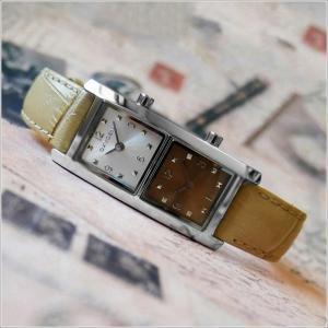 オキシゲン OXYGEN 腕時計 デュアルタイム 20009L-DT-BE レザーベルト アウトレット品|ippin