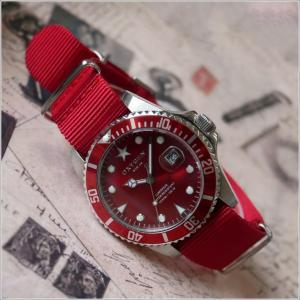 オキシゲン OXYGEN 腕時計 EX-D-SHA-40-R (224931) テキスタイルベルト アウトレット品|ippin
