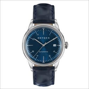 オキシゲン OXYGEN 腕時計 シティレジェンド 40 KARL AUTO L-CA-KAR-40 (224354) 機械式自動巻 レザーベルト|ippin