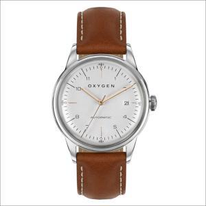 オキシゲン OXYGEN 腕時計 シティレジェンド 40 MARIO AUTO L-CA-MAR-40 (224353) 機械式自動巻 レザーベルト|ippin