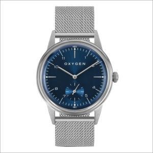 オキシゲン OXYGEN 腕時計 シティレジェンド 40 KARL L-C-KAR-40M (224351) クォーツ スモールセコンド メッシュメタルベルト ippin
