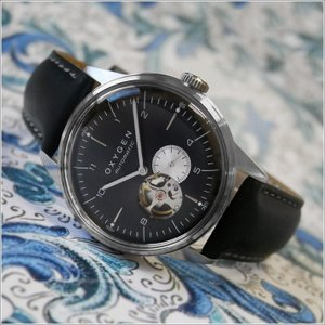 オキシゲン OXYGEN 腕時計 シティレジェンド 40 FELIX AUTO L-COA-FEL-40 (224357) 機械式自動巻 レザーベルト|ippin
