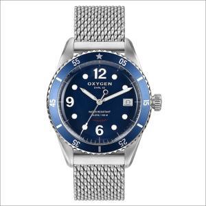 オキシゲン OXYGEN 腕時計 ダイバーレジェンド 42 BALTIC L-D-BAL-42 (224325) メッシュメタルベルト|ippin