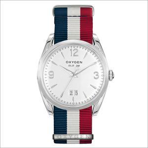 オキシゲン OXYGEN 腕時計 スポーツレジェンド 38 REAGAN L-S-38-NS (224369) クォーツ 3針 デイト テキスタイルベルト ippin