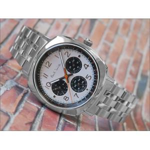 ポールスミス PAUL SMITH 腕時計 P10044 メンズ メタルベルト ippin