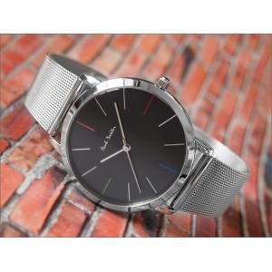 ポールスミス PAUL SMITH 腕時計 P10055 MA メンズ メッシュメタルベルト|ippin