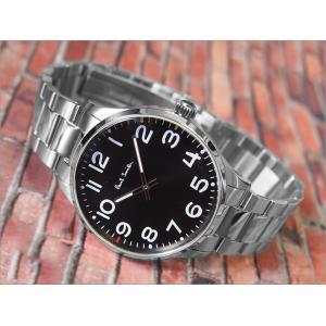 ポールスミス PAUL SMITH 腕時計 P10064 メンズ メタルベルト ippin