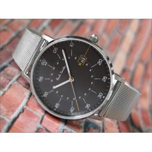 ポールスミス PAUL SMITH 腕時計 P10131 GAUGE NEW メンズ メッシュメタルベルト|ippin