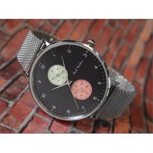 ポールスミス PAUL SMITH 腕時計 PS0070006 TRACK DESIGN メンズ メッシュメタルベルト|ippin