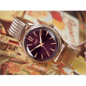 ヘンリーロンドン HENRY LONDON 腕時計 HL34-SM-0196 ハムステッド レディース メッシュメタルベルト|ippin