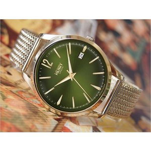 ヘンリーロンドン HENRY LONDON 腕時計 HL39-M-0102 チズウィック メンズ メッシュメタルベルト|ippin