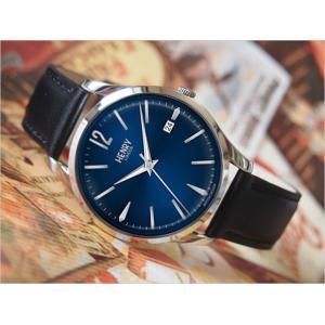 ヘンリーロンドン HENRY LONDON 腕時計 HL39-S-0031 ナイツブリッジ メンズ レザーベルト|ippin