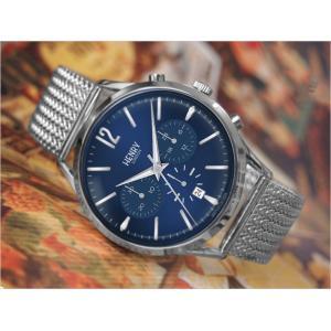 ヘンリーロンドン HENRY LONDON 腕時計 HL41-CM-0037 ナイツブリッジ メンズ メッシュメタルベルト|ippin
