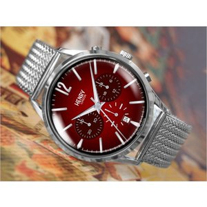 ヘンリーロンドン HENRY LONDON 腕時計 HL41-CM-0101 チャンセリー メンズ メッシュメタルベルト|ippin