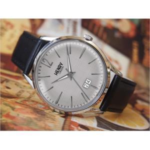 ヘンリーロンドン HENRY LONDON 腕時計 HL41-JS-0081 ピカデリー メンズ レザーベルト|ippin