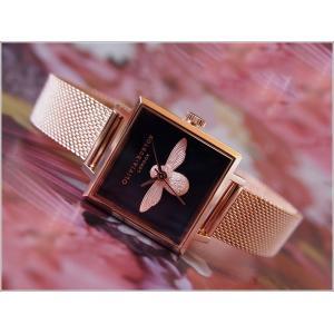 オリビアバートン OLIVIA BURTON 腕時計 OB16AM96 レディース メッシュメタルベルト|ippin