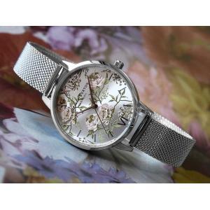 オリビアバートン OLIVIA BURTON 腕時計 OB16PL33 レディース メッシュメタルベルト|ippin