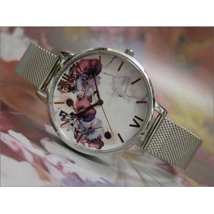 オリビアバートン OLIVIA BURTON 腕時計 OB16MF09 レディース メッシュメタルベルト|ippin