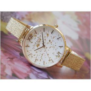 オリビアバートン OLIVIA BURTON 腕時計 OB16GD15 レディース メッシュメタルベルト ippin