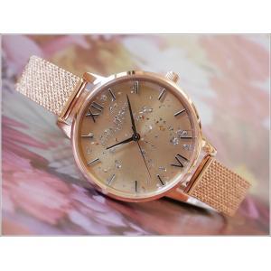 オリビアバートン OLIVIA BURTON 腕時計 OB16GD12 レディース メッシュメタルベルト ippin