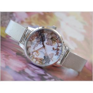 オリビアバートン OLIVIA BURTON 腕時計 OB16CS16 レディース メッシュメタルベルト ippin