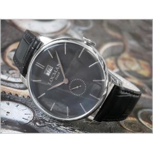 ロックマン LOCMAN 腕時計 0252V01-00BKNKPK 1960 DATE レザーベルト|ippin
