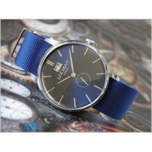 ロックマン LOCMAN 腕時計 0252V02-00BLNKNB 1960 DATE テキスタイルベルト|ippin