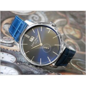 ロックマン LOCMAN 腕時計 0252V02-00BLNKPB 1960 DATE レザーベルト|ippin