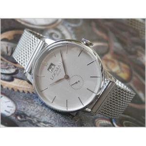 ロックマン LOCMAN 腕時計 0252V06-00AGNKB0 1960 DATE メッシュメタルベルト ippin