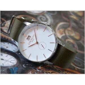 ロックマン LOCMAN 腕時計 0252V08-00WHRGNG 1960 DATE テキスタイルベルト ippin