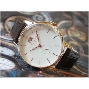 ロックマン LOCMAN 腕時計 0252V10-RGAVRGPT 1960 DATE レザーベルト ippin