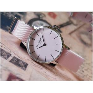 ロックマン LOCMAN 腕時計 0253A11A-00PKNKNP 1960 LADY テキスタイルベルト ippin