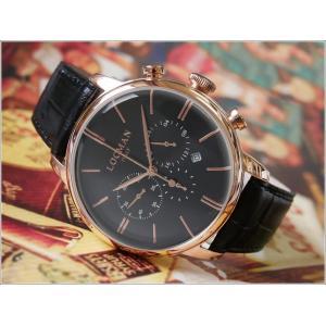 ロックマン LOCMAN 腕時計 0254R01R-RRBKRGPK 1960 CHRONOGRAPH レザーベルト|ippin