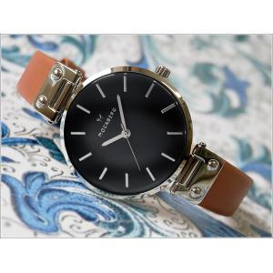 モックバーグ MOCKBERG 腕時計 MO112 Wera Black レディース クォーツ レザーベルト|ippin