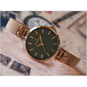 モックバーグ MOCKBERG 腕時計 MO408 Lily Petite Noir レディース クォーツ メッシュメタルベルト|ippin