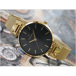 モックバーグ MOCKBERG 腕時計 MO1603 Livia Noir レディース クォーツ メッシュメタルベルト|ippin