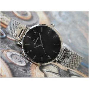 モックバーグ MOCKBERG 腕時計 MO1604 Elise Noir レディース クォーツ メッシュメタルベルト|ippin