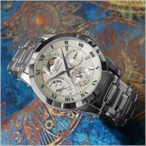 セイコー SEIKO 腕時計 SRX011J1 メンズ メタルベルト プルミエ キネティック ムーンフェイズ (Cal 5D88)|ippin