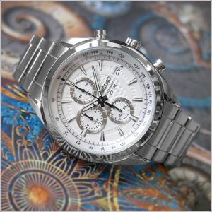 セイコー SEIKO 腕時計 SSB173J1 メンズ メタルベルト クロノグラフ 100m防水 クォーツ (Cal 8T67)|ippin
