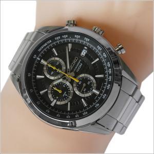 セイコー SEIKO 腕時計 SSB175J1 メンズ メタルベルト クロノグラフ 100m防水 クォーツ (cal 8T67)|ippin